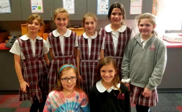 Cardinal Appeal: Wednesday Wire: St. Louis School Children Choir Members