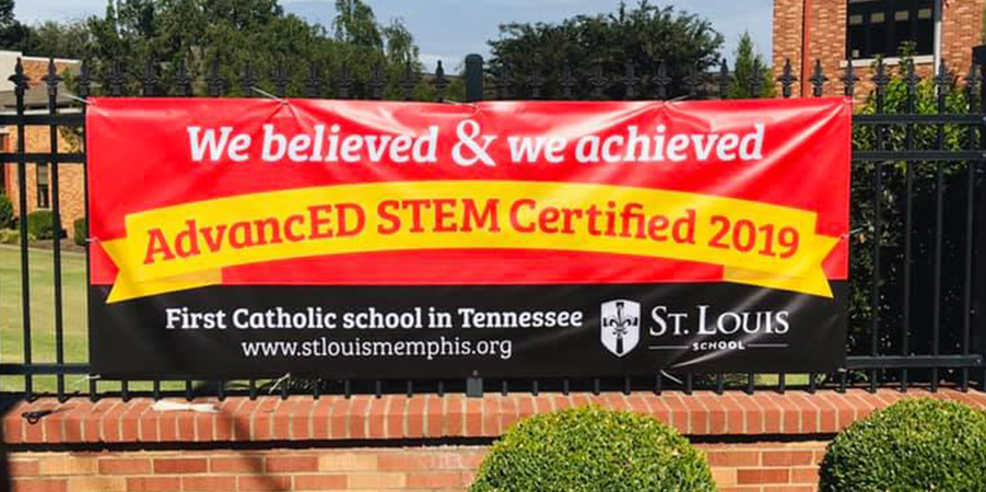Stem Certified Sign