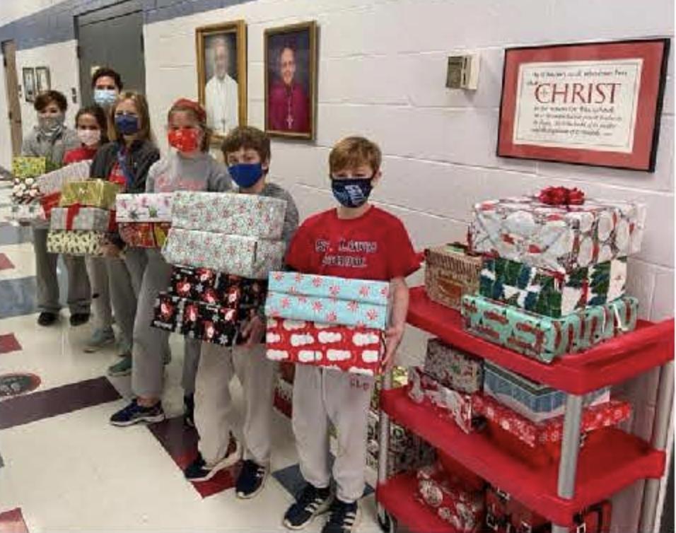 christmas giving at slcs gift present drive cardinal post